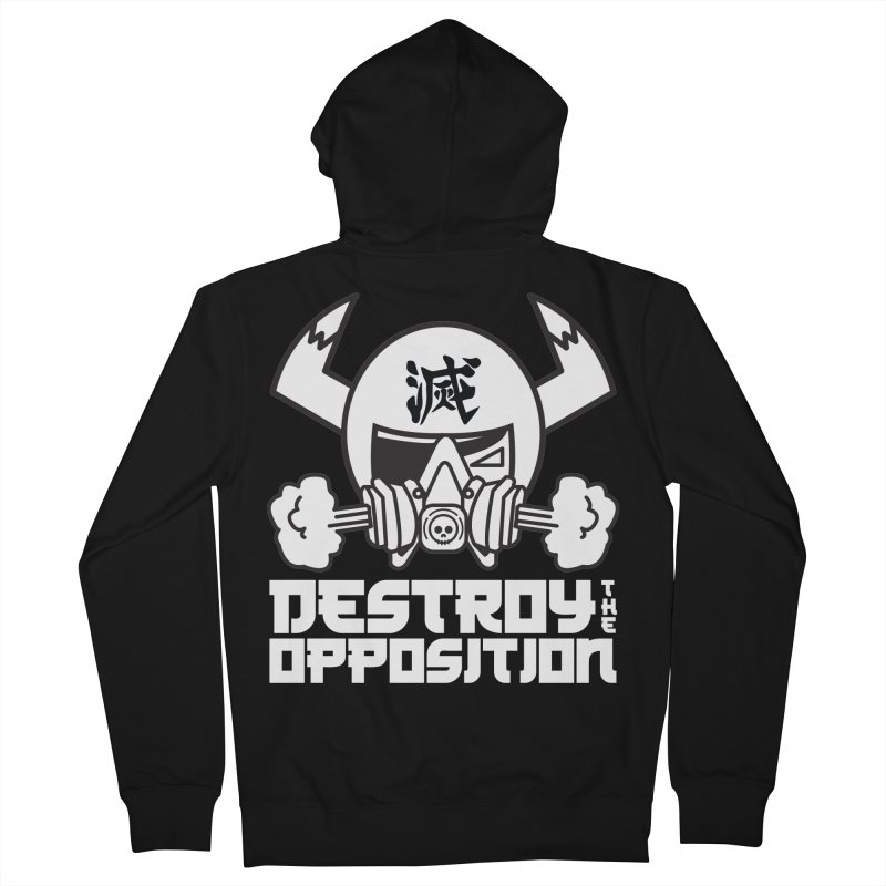 STREET PIRATES DTO Men's French Terry Zip-Up Hoody by SergAndDestroy's Artist Shop
