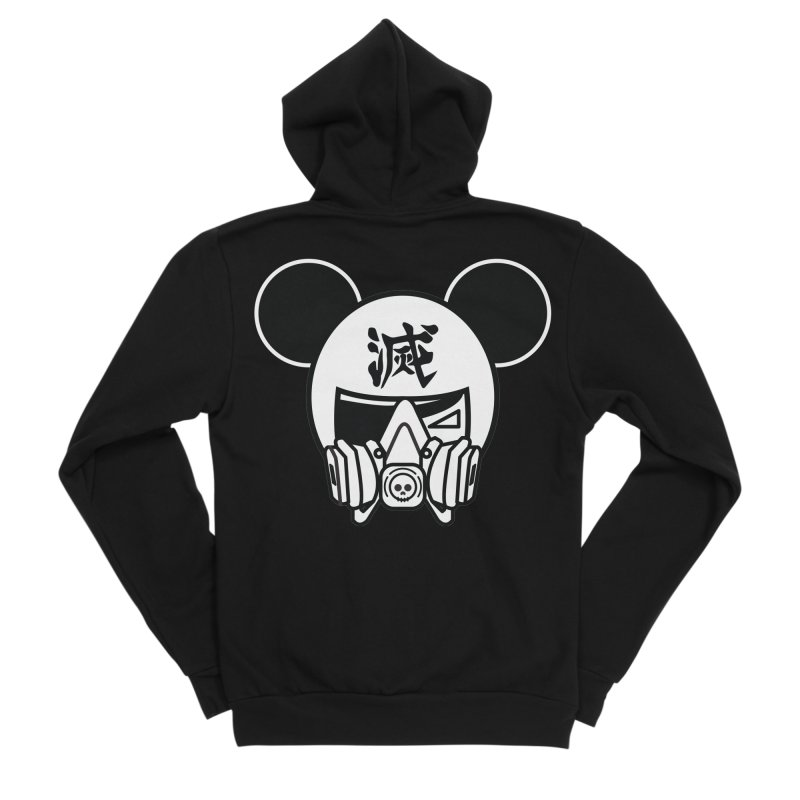 HAKAI SURU MOUSE Women's Sponge Fleece Zip-Up Hoody by SergAndDestroy's Artist Shop