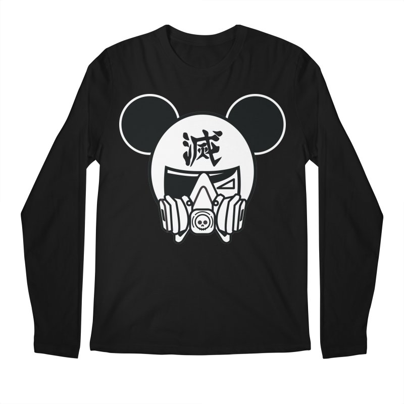 HAKAI SURU MOUSE Men's Regular Longsleeve T-Shirt by SergAndDestroy's Artist Shop