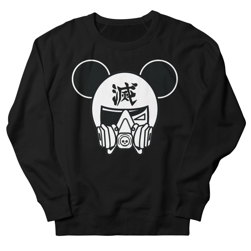 HAKAI SURU MOUSE Women's French Terry Sweatshirt by SergAndDestroy's Artist Shop