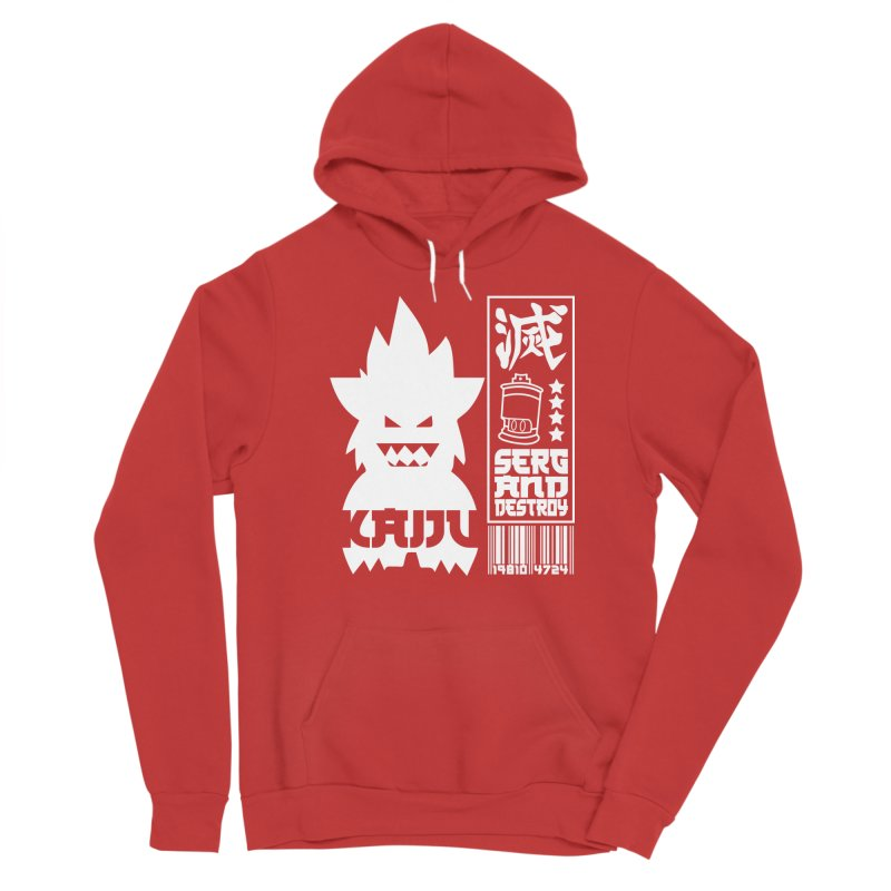 KAIJU CODED (white) Men's Pullover Hoody by SergAndDestroy's Artist Shop