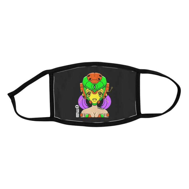 MAKO-5 Visor Scan Accessories Face Mask by SergAndDestroy's Artist Shop