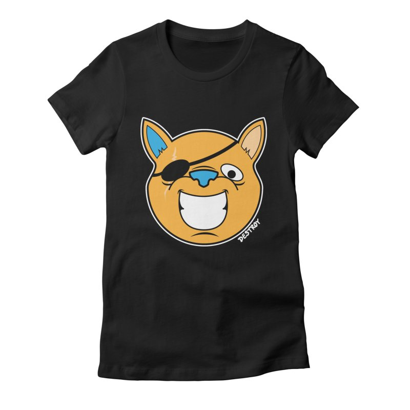 El Gran Gato Women's Fitted T-Shirt by SergAndDestroy's Artist Shop