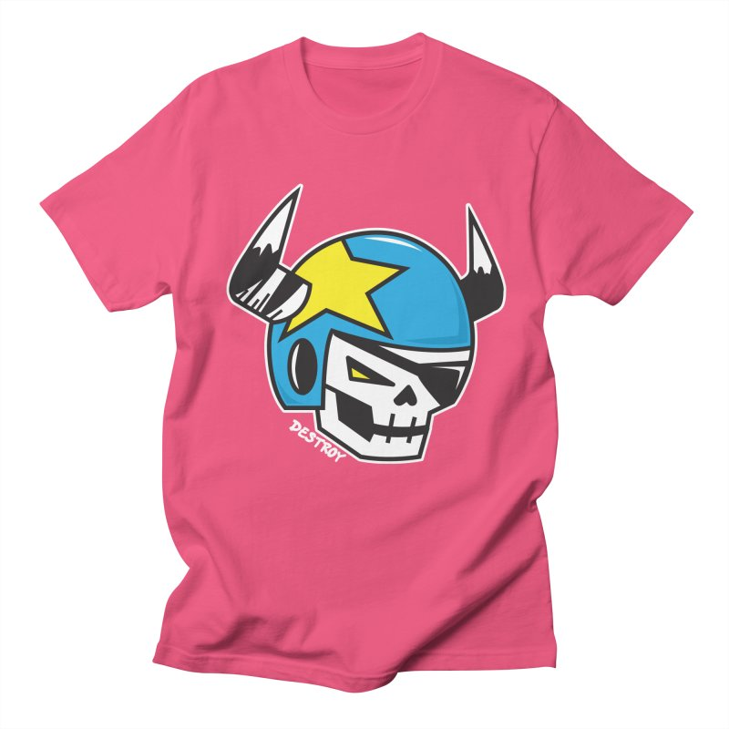 STUNT SKULL (CLASSIC) Women's Regular Unisex T-Shirt by SergAndDestroy's Artist Shop