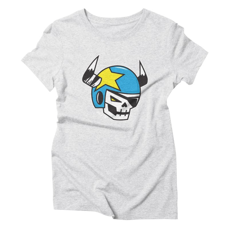 STUNT SKULL (CLASSIC) Women's T-Shirt by SergAndDestroy's Artist Shop