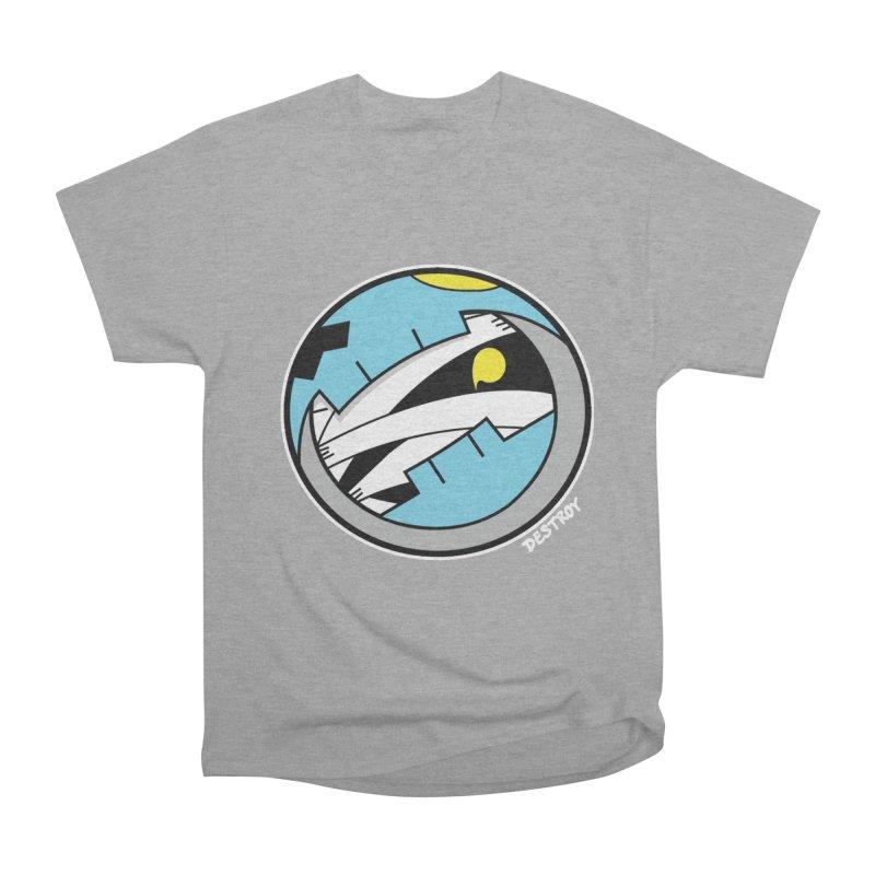 Mumskull Badge Men's Heavyweight T-Shirt by SergAndDestroy's Artist Shop