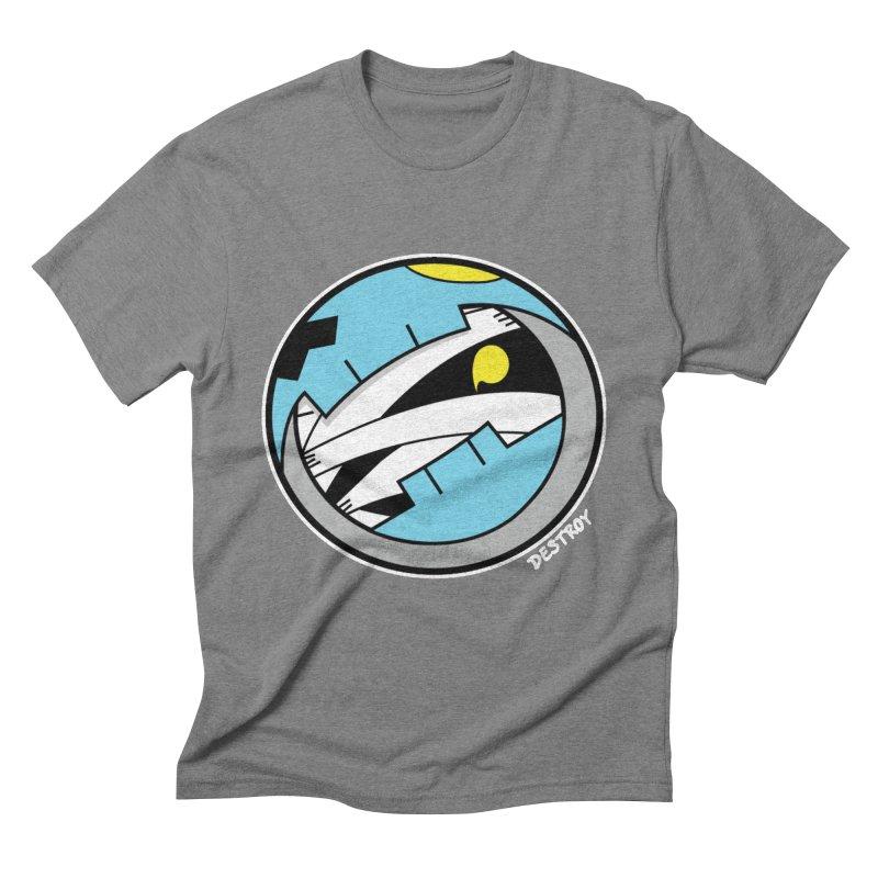 Mumskull Badge Men's Triblend T-Shirt by SergAndDestroy's Artist Shop