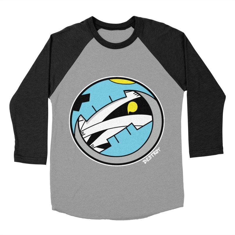 Mumskull Badge Men's Baseball Triblend Longsleeve T-Shirt by SergAndDestroy's Artist Shop