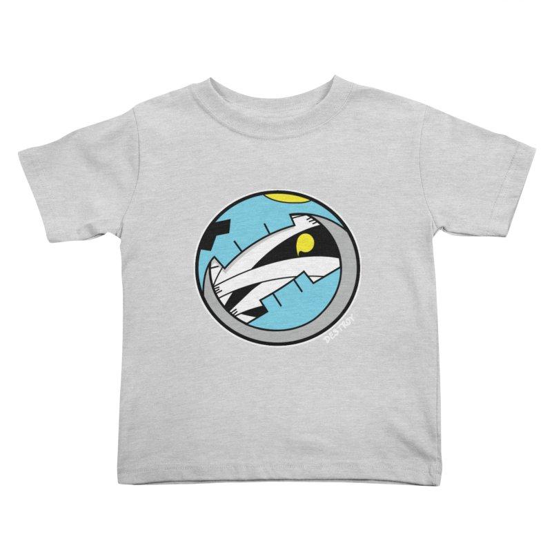 Mumskull Badge Kids Toddler T-Shirt by SergAndDestroy's Artist Shop