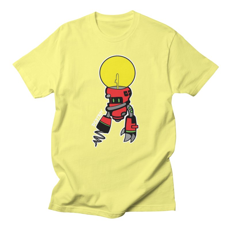 ENERGY VAMPIRE (RED) Men's T-Shirt by SergAndDestroy's Artist Shop
