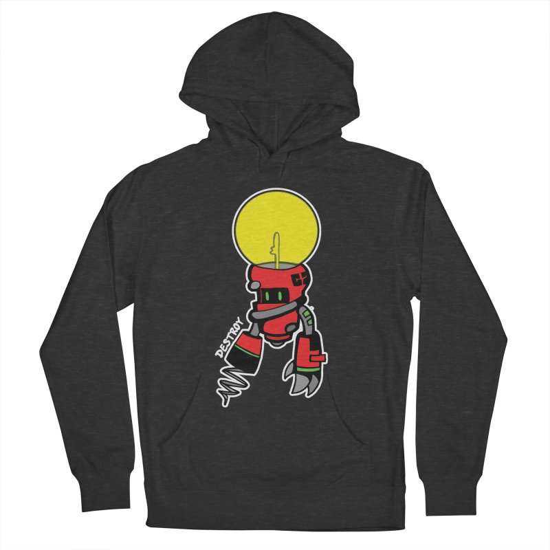 ENERGY VAMPIRE (RED) Men's French Terry Pullover Hoody by SergAndDestroy's Artist Shop