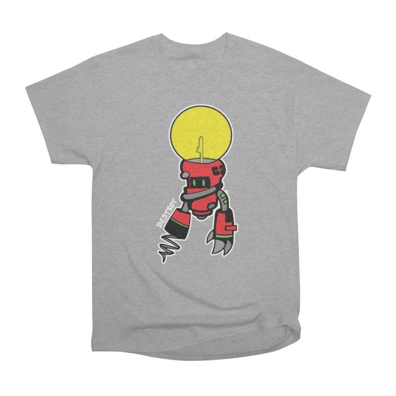 ENERGY VAMPIRE (RED) Men's Heavyweight T-Shirt by SergAndDestroy's Artist Shop