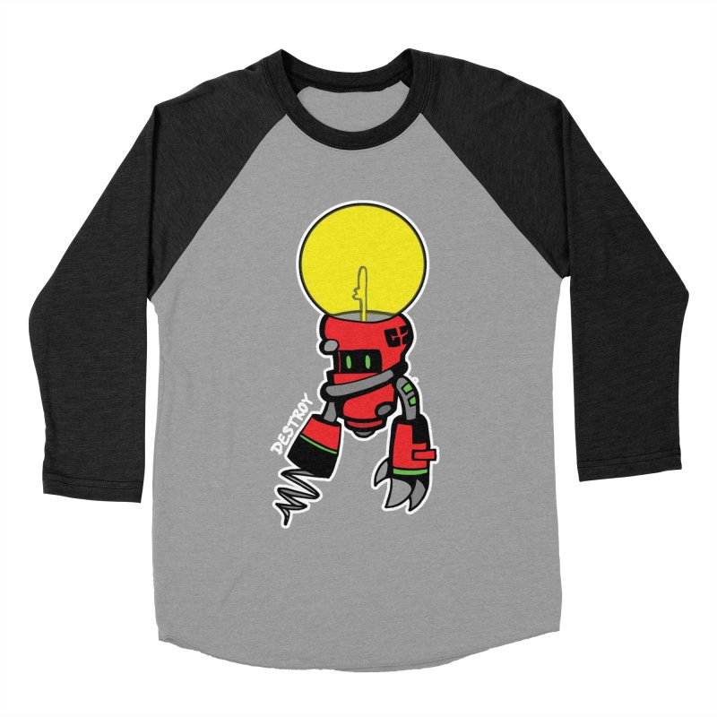 ENERGY VAMPIRE (RED) Men's Longsleeve T-Shirt by SergAndDestroy's Artist Shop