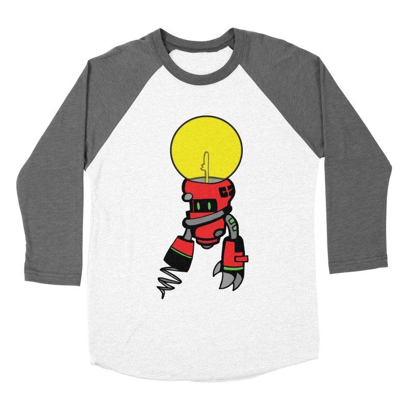 ENERGY VAMPIRE (RED) Men's Baseball Triblend Longsleeve T-Shirt by SergAndDestroy's Artist Shop