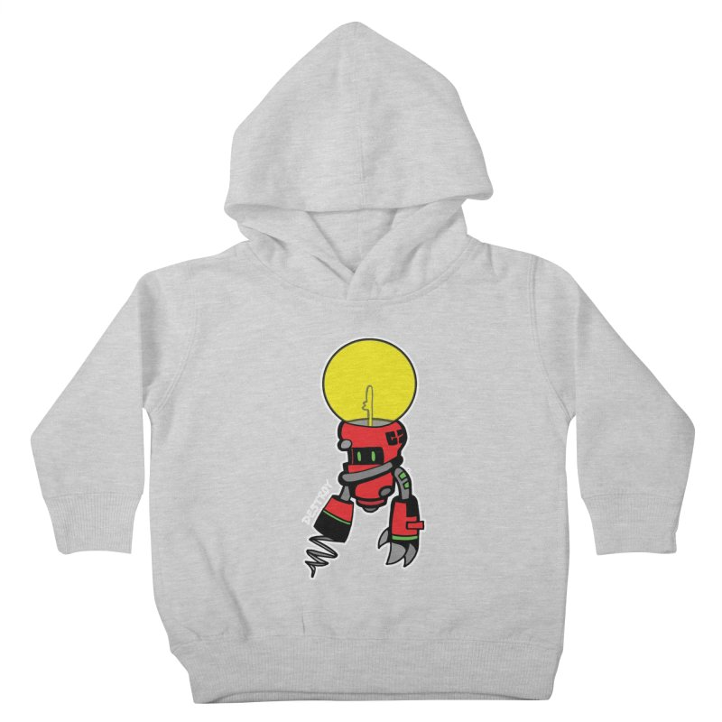 ENERGY VAMPIRE (RED) Kids Toddler Pullover Hoody by SergAndDestroy's Artist Shop
