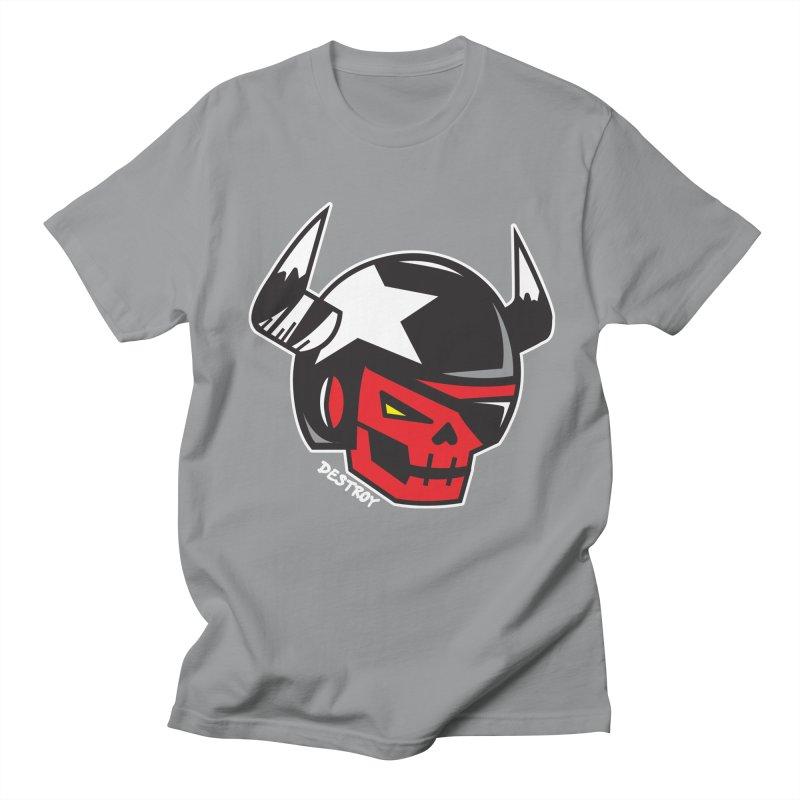 StuntSkull (Red Skull Edition) Women's Regular Unisex T-Shirt by SergAndDestroy's Artist Shop