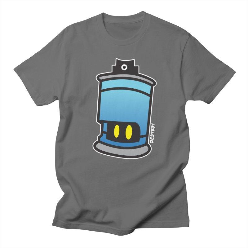 SPRAY CAN SAM Men's T-Shirt by SergAndDestroy's Artist Shop