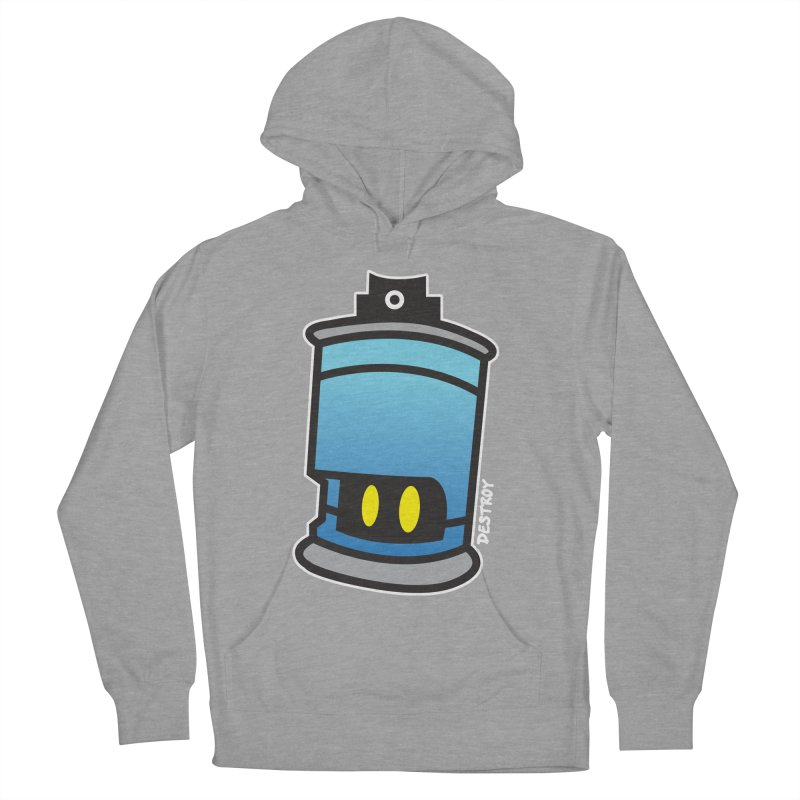SPRAY CAN SAM Men's French Terry Pullover Hoody by SergAndDestroy's Artist Shop