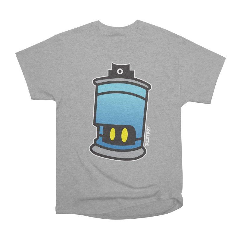 SPRAY CAN SAM Men's Heavyweight T-Shirt by SergAndDestroy's Artist Shop