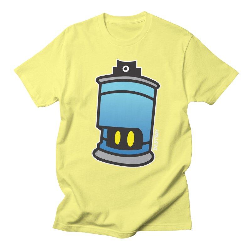 SPRAY CAN SAM Men's Regular T-Shirt by SergAndDestroy's Artist Shop