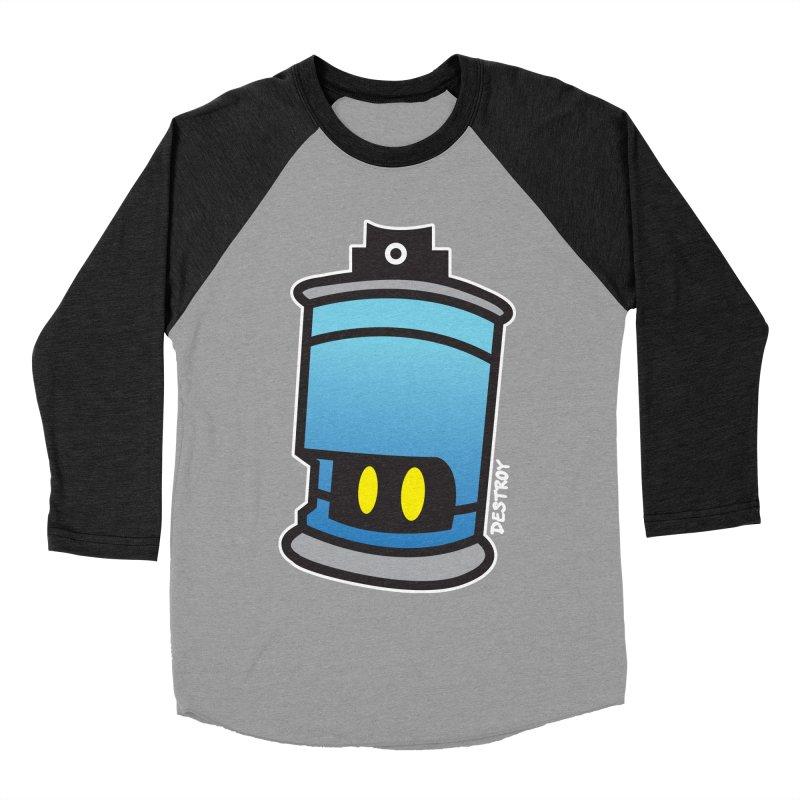 SPRAY CAN SAM Men's Baseball Triblend Longsleeve T-Shirt by SergAndDestroy's Artist Shop
