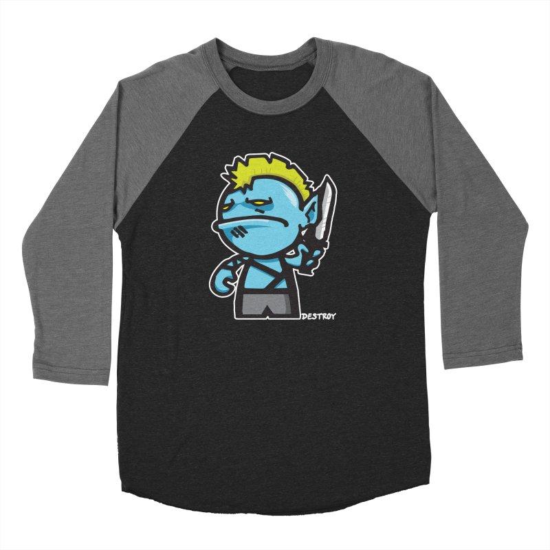ORC HORDE TROOP Men's Baseball Triblend Longsleeve T-Shirt by SergAndDestroy's Artist Shop