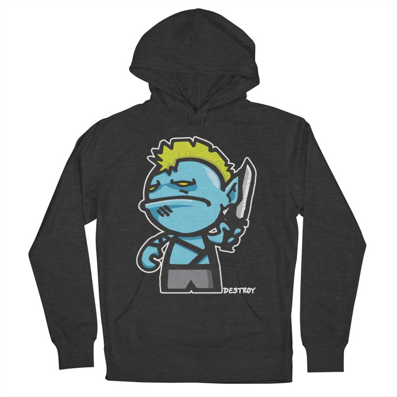 ORC HORDE TROOP Women's French Terry Pullover Hoody by SergAndDestroy's Artist Shop