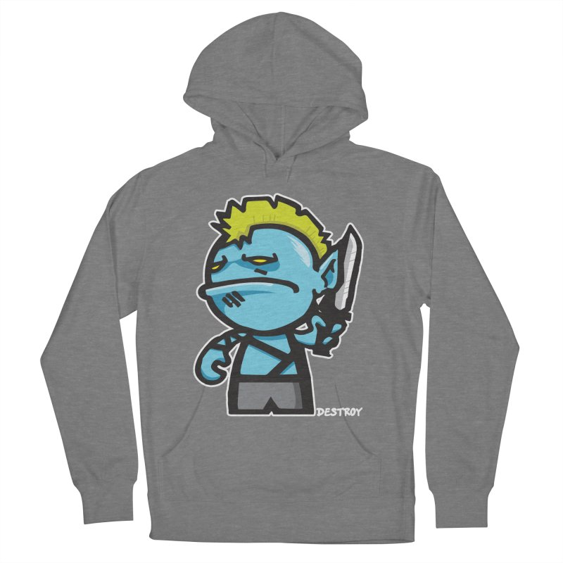 ORC HORDE TROOP Men's French Terry Pullover Hoody by SergAndDestroy's Artist Shop
