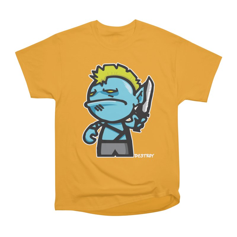 ORC HORDE TROOP Men's Heavyweight T-Shirt by SergAndDestroy's Artist Shop