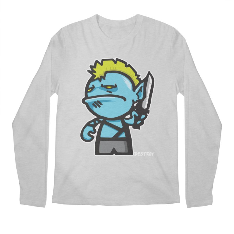ORC HORDE TROOP Men's Regular Longsleeve T-Shirt by SergAndDestroy's Artist Shop