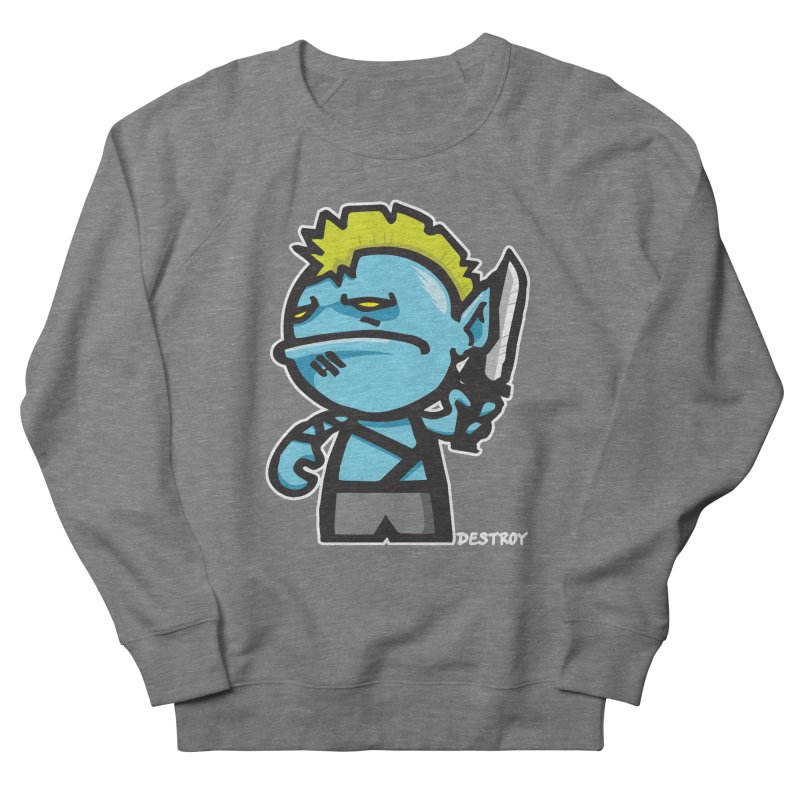 ORC HORDE TROOP Women's French Terry Sweatshirt by SergAndDestroy's Artist Shop