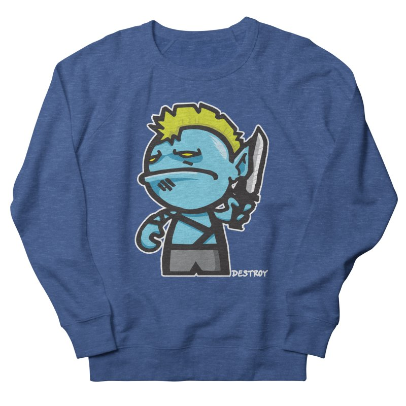 ORC HORDE TROOP Men's French Terry Sweatshirt by SergAndDestroy's Artist Shop
