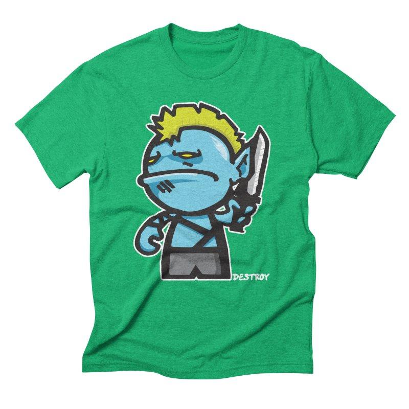 ORC HORDE TROOP Men's Triblend T-Shirt by SergAndDestroy's Artist Shop