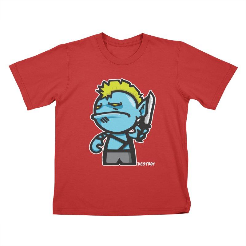ORC HORDE TROOP Kids T-Shirt by SergAndDestroy's Artist Shop