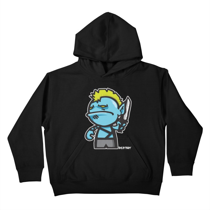 ORC HORDE TROOP Kids Pullover Hoody by SergAndDestroy's Artist Shop