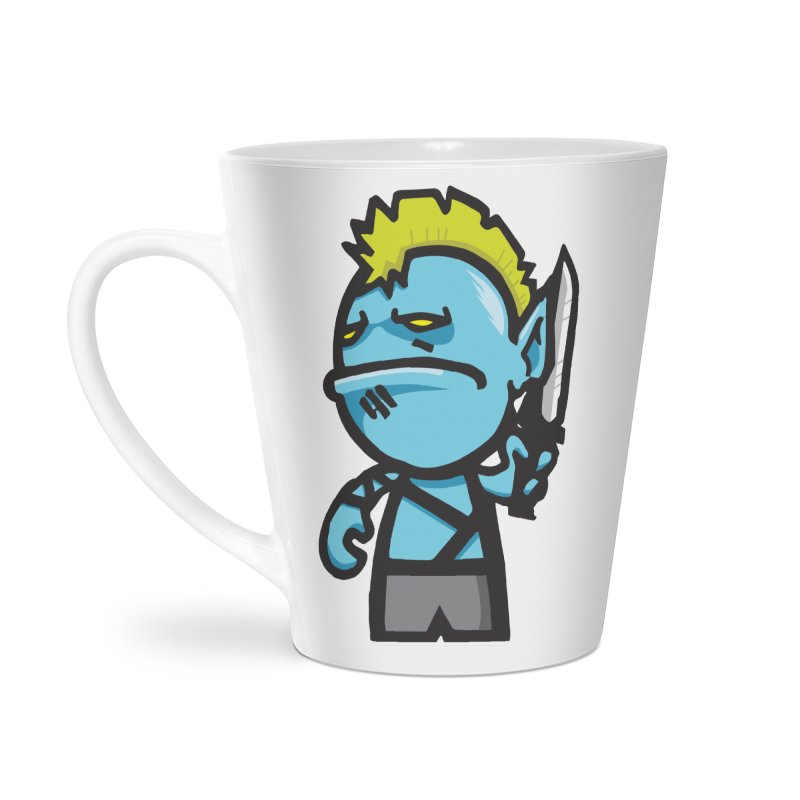 ORC HORDE TROOP Accessories Latte Mug by SergAndDestroy's Artist Shop