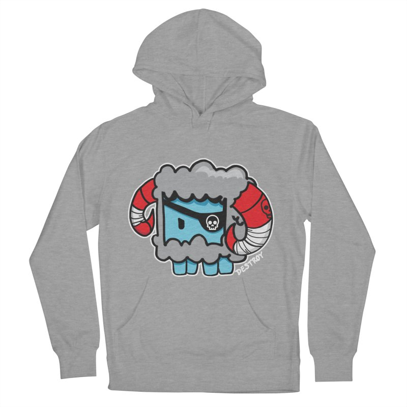 Capitan Suave Women's French Terry Pullover Hoody by SergAndDestroy's Artist Shop