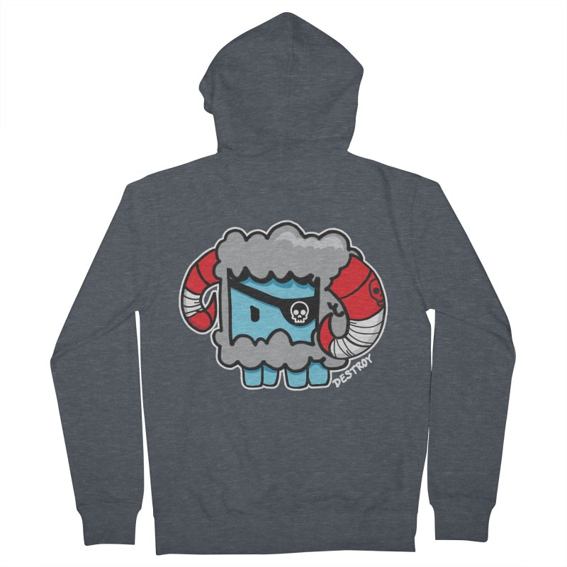 Capitan Suave Women's French Terry Zip-Up Hoody by SergAndDestroy's Artist Shop