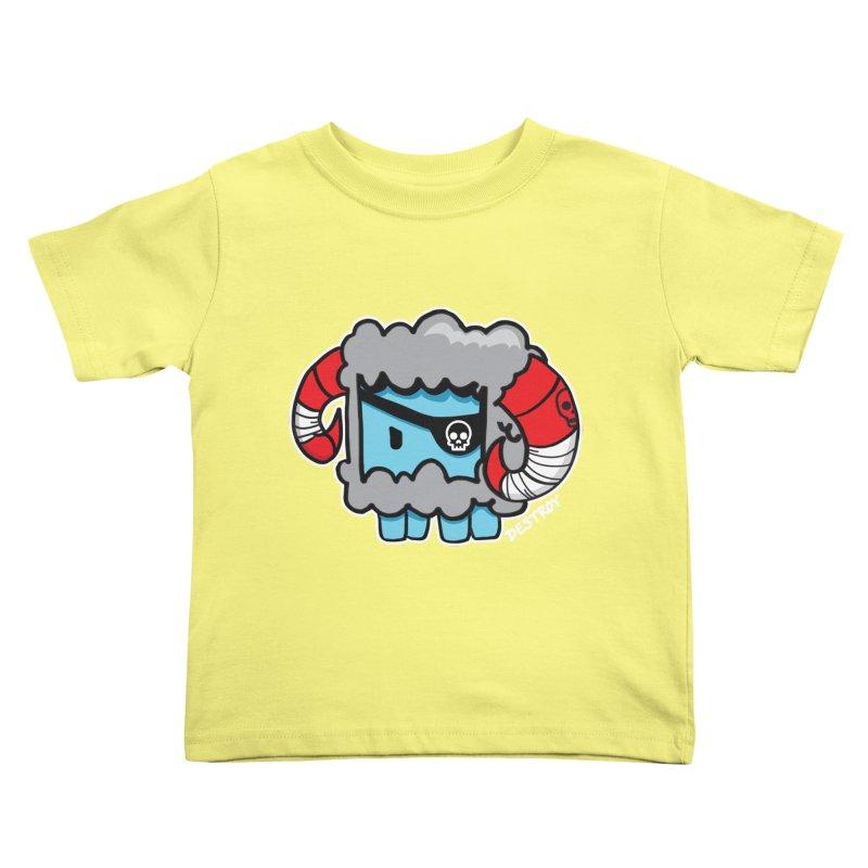 Capitan Suave Kids Toddler T-Shirt by SergAndDestroy's Artist Shop