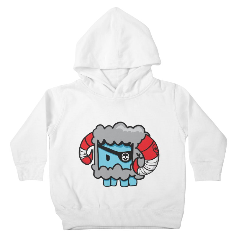Capitan Suave Kids Toddler Pullover Hoody by SergAndDestroy's Artist Shop
