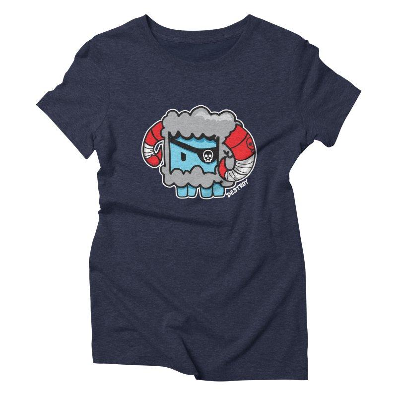Capitan Suave Women's Triblend T-Shirt by SergAndDestroy's Artist Shop