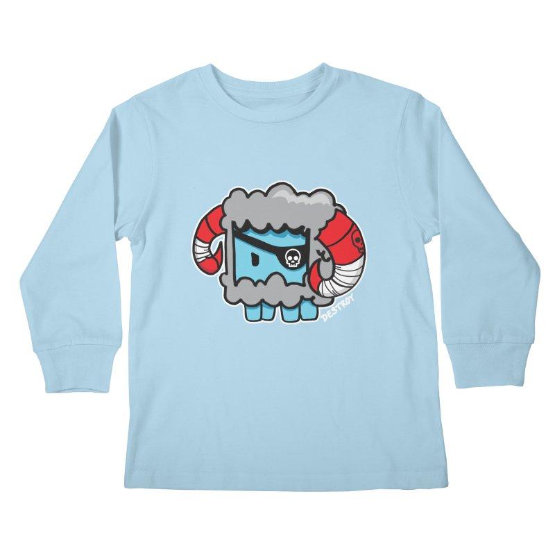 Capitan Suave Kids Longsleeve T-Shirt by SergAndDestroy's Artist Shop