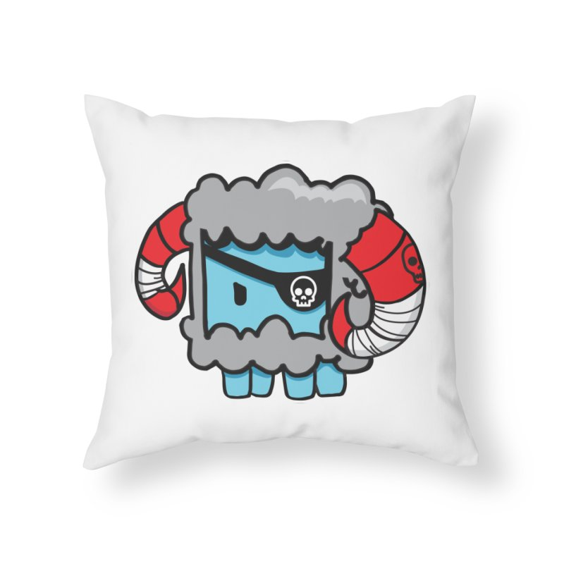 Capitan Suave Home Throw Pillow by SergAndDestroy's Artist Shop