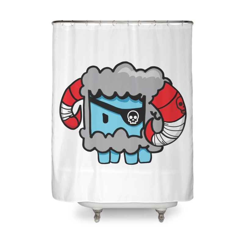 Capitan Suave Home Shower Curtain by SergAndDestroy's Artist Shop
