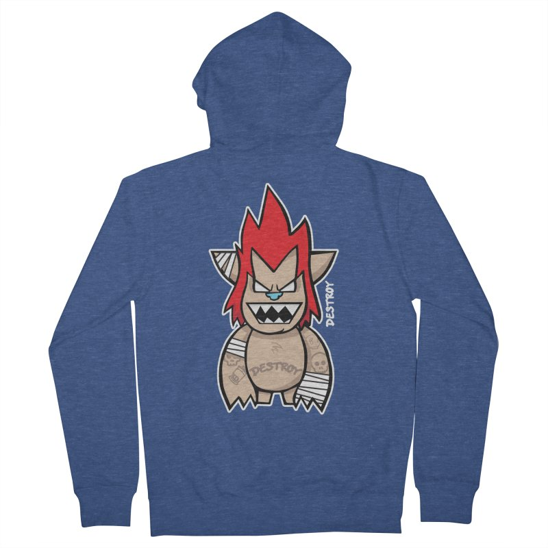 WARILLA (HARDCORE CLASSIC) Women's French Terry Zip-Up Hoody by SergAndDestroy's Artist Shop