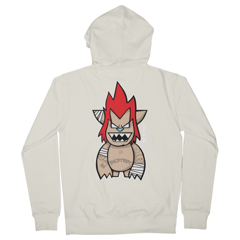 WARILLA (HARDCORE CLASSIC) Men's French Terry Zip-Up Hoody by SergAndDestroy's Artist Shop