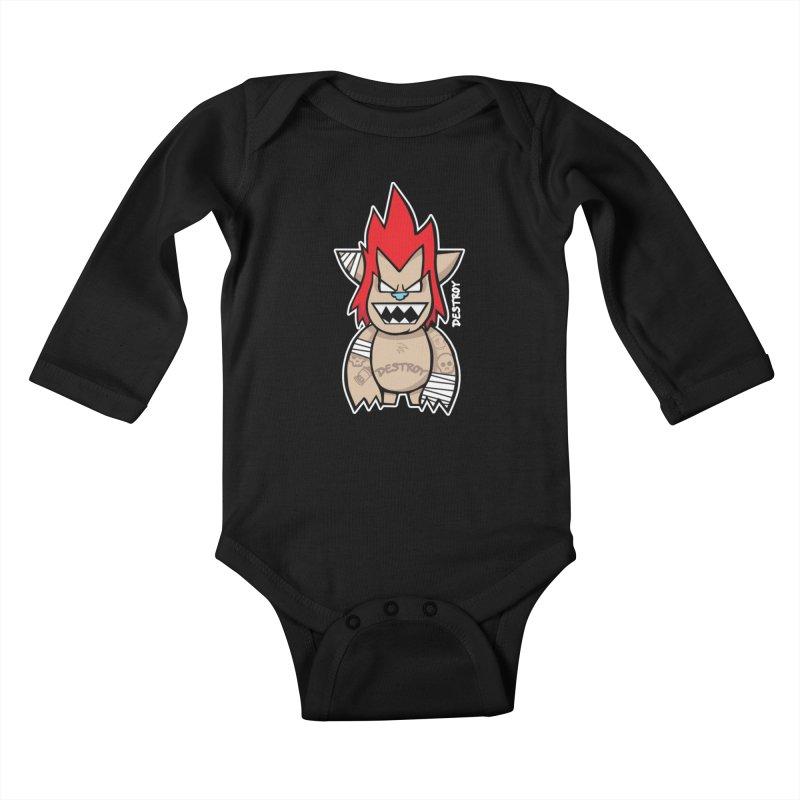 WARILLA (HARDCORE CLASSIC) Kids Baby Longsleeve Bodysuit by SergAndDestroy's Artist Shop