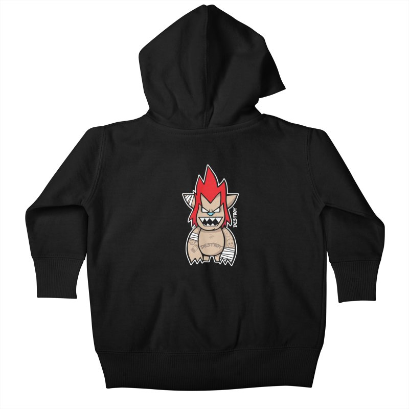 WARILLA (HARDCORE CLASSIC) Kids Baby Zip-Up Hoody by SergAndDestroy's Artist Shop
