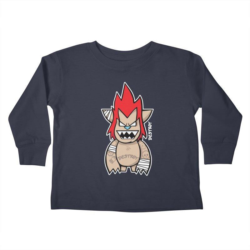 WARILLA (HARDCORE CLASSIC) Kids Toddler Longsleeve T-Shirt by SergAndDestroy's Artist Shop
