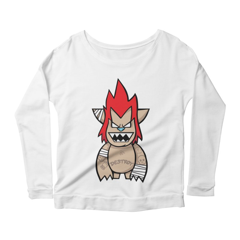WARILLA (HARDCORE CLASSIC) Women's Scoop Neck Longsleeve T-Shirt by SergAndDestroy's Artist Shop